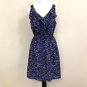 Mossimo floral animal print ruffle dress 611